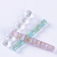 1 ADET 5 Izgaralar Nail Art Fırça Kalem Raf Standı Aracı Temizle Akrilik Renkli UV Jel Fırça Ekran Tırnak Kalem Tutucu Gösteren Aracı