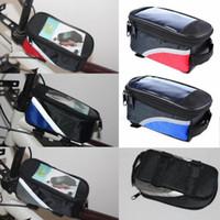 자전거 자전거 전면 인기 여행지 프레임 파니 튜브 가방 케이스 파우치 자전거 안장