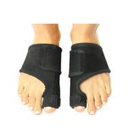 fabricantes de pano composta preto quente material de toe apoio alisador de cinto de hallux valgus alívio da dor órtese atacado
