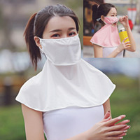 Anti Dust Mouth Cover Women UV Protection Ice Silk Neck Mask...
