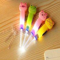 الأذن الجديدة LED مصباح يدوي الطفل اختيار الشمع بيك أب الأذن مزيل مع كوريت منظف الملقط 3 تركيب
