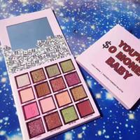 EPACK 2019 Collection Anniversaire vous êtes de $ o argent bébé 16 couleurs mat et Shimmer fard à paupières Eye Shadow Maquillage DHL Livraison gratuite