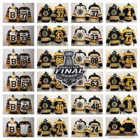 Boston Bruins Hóquei Jerseys 33 ZDo Chara 8 Cam Neely 88 David Pastrnak 63 Brad Marchand Charlie McAVOY 74 Jake Debrusk 46 Krejci