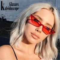 Женщины Cat Eye Солнцезащитные очки Марка Дизайнер Vintage Luxury Eyes Сладкий Симпатичные ВС Очки Женский ретро Красный Черный очки Оттенки UV400