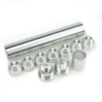 """Trappola carburante / filtro solvente 1 """"X6"""" per Napa 4003 Wix 24003 1/2-28, 5/8-24 alluminio"""