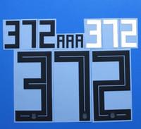 2018 DÜNYA KUPASI Arjantin Milli takım MESSI futbol Nameset özelleştirme adı A-Z Numarası 0-9 Baskı Futbol Oyuncu yazı nameset yama