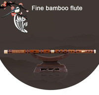 regalo di qualità di bambù alta Flauto professionali fiato Flauti Strumenti musicali C D E F G chiave cinese dizi trasversale Flauta bambini