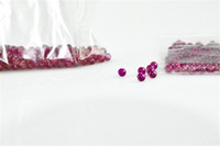 Nouveau 6mm Jade Diamant Ruby Terp Pearl Ball Insert Rouge Violet Lumière stockage perles Perles Ruby Ball Insérer pour Quartz Banger NailLivraison gratuite