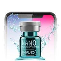غطت كامل 3D السائل شاشة زجاج حامي نانو تكنولوجيا الحماية القصوى لجميع الهواتف الذكية 2ML السائل حامي