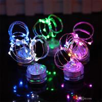 2m 20 LED CR2032 Batterie wasserdichte String-Lichter für Weihnachts-Party Hochzeitsdekoration Weihnachts-Tauch-Fairy-Lichter
