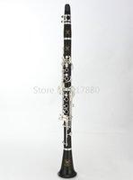 MARGEWATE MCL-5008 17 tasti ebano Clarinetto Sib Tune B Flat Clarinet strumento musicale con accessori trasporto libero di caso