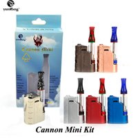 100% Authentic YunKang Cannon Mini Starter Kits With 650mAh ...