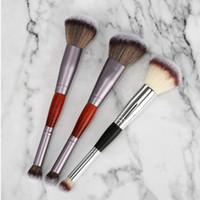 2in1 Double head Foundation Brush eye shadow brush 2 heads M...