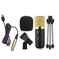 Bilgisayar Dizüstü PC için Profesyonel Mikrofon Kondenser USB Fiş + Stüdyo Podcasting Kayıt Mikrofon Karaoke Mic WJJDZ Standı