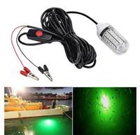 2020 Рыбалка свет 108pcs 2835 LED подводная рыбалка свет приманки Искатель рыбы лампа привлекает креветки кальмары Криль (4 цвета )