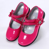 Girls Dress Shoes Children' s Leather Shoes Girls Prince...