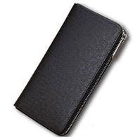 Heißer Verkauf Groß- und Kleinhandel Leder Männer und die Frauen Mappen Geldbeutel-Kartenhalter (6 Farbe für Auswahl) Handtaschen 60017