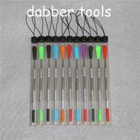 100 шт. Wax Dabber Tool DAB Инструменты с силиконовым наконечником и трубками Концентрат Dabbers EGO бесплатно DHL