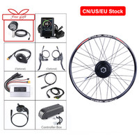 """자전거 20 """"26""""27.5 """"700C 리어 휠의 팔방 48V 500W 허브 모터 뒷 바퀴 전기 자전거 변환 키트 종류"""