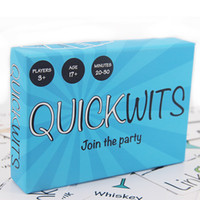 Quickwits Party Card Game - A Fun and Social Adult Game Towp...