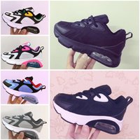 Hot Sale baby Kids shoes Triple white Running shoes Boys gir...