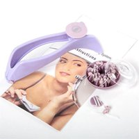 Facial Hair Remolver Threading Epilateur Defeather Bricoleur Diy Filetage manuellement Face Face Facial Coiffoir Épilateur