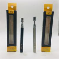 Одноразовые ручки для заправки наполнения Vape 0.3 мл 0,5 мл 5s C1 C2 стеклянные баки 320 мАч батарея керамическая катушка одноразовые ручки электронные сигареты