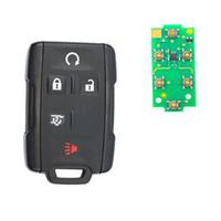 Remplacement entrée sans clé de contrôle clé voiture avec 5 boutons 315MHz FOB pour Enclave 2008-2015 M3N32337100