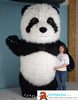 Funny Inflatable Suit Giant Panda Mascot Costume Theme Park ...