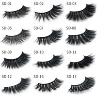 17 Styles 3D Mink Hair Thick Long False Eyelashes Thick Natu...