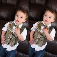 2019 Custom Camo Boy' s Formal Wear Camouflage Real Tree...