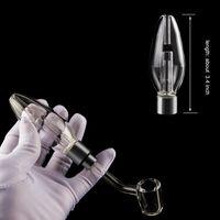 510 Mini Clear Glass кальян Bubbler С 510 Кварц Banger для Dab Rig Oil Rig стеклянные бонги