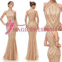 2019 In Stock Luxury Beaded Off The Shoulder Evening Dress S...