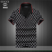 2019 summer highquality Mens Luxury Designer Shirts Male Sum...