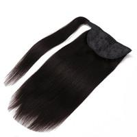 9A Pferdegel Klaue Clip Haarverlängerungen 100% Virgin Brasilianischer Peruaner Malaysischer indischer Remy Menschliches Gerades Haar Horseail Farbe 1b Blondine 613