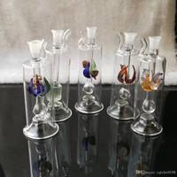 Multi-Pattern-Huka, Großhandel Glas Bongs, Ölbrenner Glas Wasser-Rohre, Rauchrohrzubehör