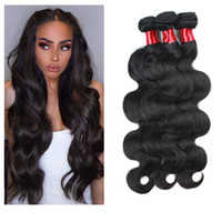 Dilys Body Wave Human Hair Bundles Black Color Non Remy Hair...