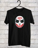 H2o Delirious Mask Black T- Shirt