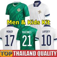 2020 Irlanda do Norte de Futebol Fora Branco 20 21 Evans Lewis Camisa de Futebol 2021 Lafferty Washington Men Kids Kit uniformes
