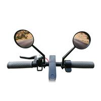 Retrovisor Espejos Espejo de bicicletas Vermera trasera Vidrio para Xiaomi MIJIA M365 Scooter eléctrico Accesorios de ciclismo de bicicleta 2 PCS