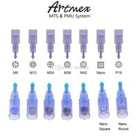 Artmex V9 V8 V6 V3 A3 yarı makyaj makinesi derma kalem için uygun PMU sistemi Daimi yedek İğne Kartuş dövme İğneler İpuçları