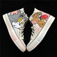 Canvas Shoes Tom and Jerry Casual Fashion Canvas Designer Ru...