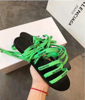 2019 Men Women Sandals Designer Shoes Luxury Slide Summer Fa...