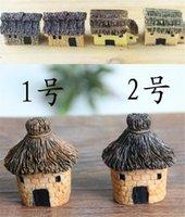 Yeni Veranda, Çim Bahçe 3 cm Sevimli Reçine El Sanatları Ev Peri Bahçe Minyatürleri Gnome Mikro Peyzaj Dekor Bonsai Ev Dekor için