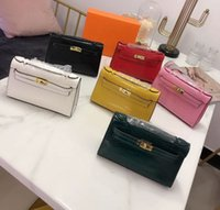 Luxury Fashion Bag Crocodile 19SS Boston Bags Her for Women ...