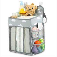 Windel-Windel-Mitarbeiter Kinderwagen Taschen Organizer Portable Pacifier Snacks Tasche Mama im Freien Aufbewahrungstasche Korb Infant Krippe Hang Taschen C6485