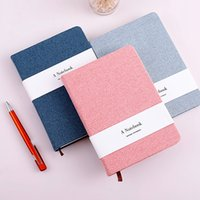 A5 A6 Simple Pure Color Cloth Hand Books Blank Pages Related...