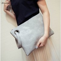 2020 Fashion Womens Clutch Bag Pu Leather Lady Envelope Shap...