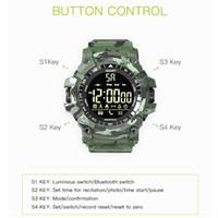 EX16 Plus-Smart Watch Sport wasserdicht Fitness Tracker Smart-Armband Bluetooth Pedometer relogio inteligente Armbanduhr für Android iPhone