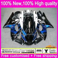 Yamaha Thundercat YZF600R 96 03 04 2005 2006 2007 79hm.36 YZF-600R CC YZF 600R 1996 2002 2003 2004 05 06 07ブルーブラックフェアリング